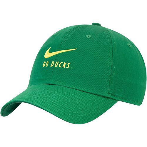 Men's Nike Green Oregon Ducks Big Swoosh Heritage 86 Adjustable Hat