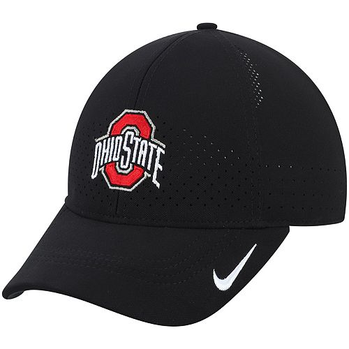 Men's Nike Black Ohio State Buckeyes Sideline Coaches Legacy 91 Performance Adjustable Hat