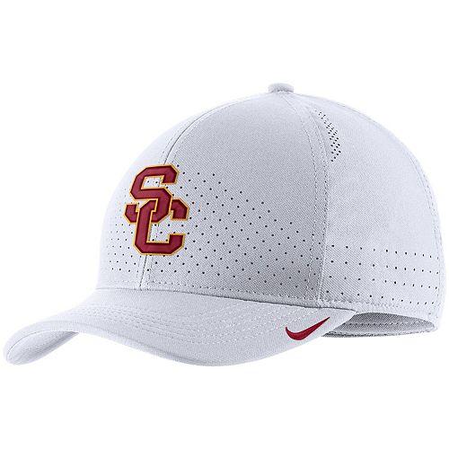 Men's Nike White USC Trojans Classic 99 Sideline Performance Flex Hat