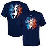 Youth Majestic Jose Altuve Navy Houston Astros 2019 Spring Training Name & Number T-Shirt