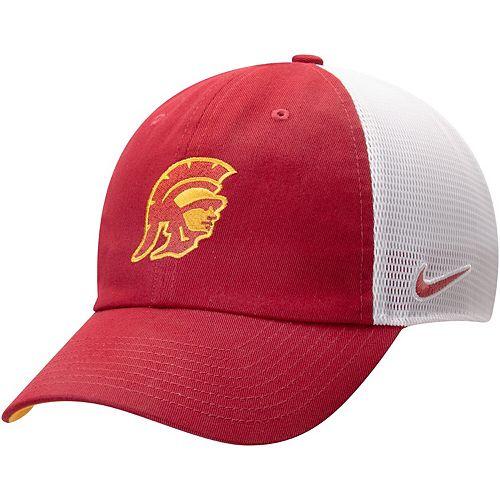 Men's Nike Cardinal USC Trojans Heritage 86 Team Trucker Meshback Adjustable Hat