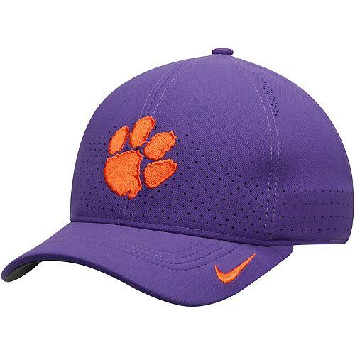 Men's Nike Purple Clemson Tigers Classic 99 Sideline Performance Flex Hat