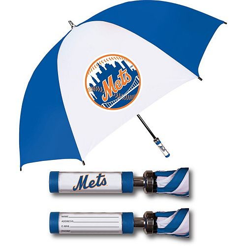 New York Mets Golf Umbrella With ID Handle