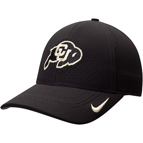 Men's Nike Black Colorado Buffaloes Sideline Coaches Legacy 91 Performance Adjustable Hat