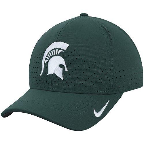 Men's Nike Green Michigan State Spartans Classic 99 Sideline Performance Flex Hat