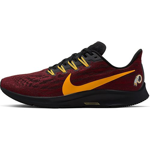 Men's Nike Burgundy/Gold Washington Redskins Air Zoom Pegasus 36 Running Shoes