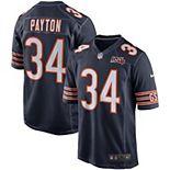 Men's Nike Walter Payton Navy Chicago Bears 100th Season Retired Game Jersey