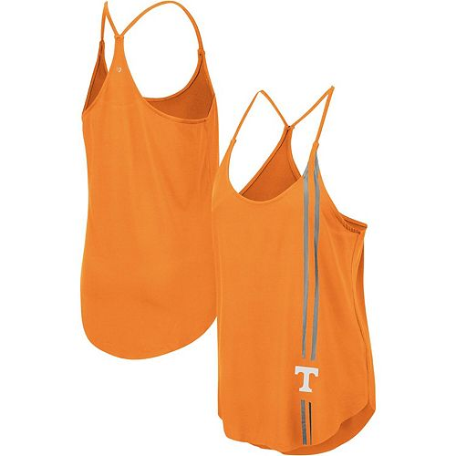 Women's Colosseum Tennessee Orange Tennessee Volunteers Dunkirk Strappy Tank Top