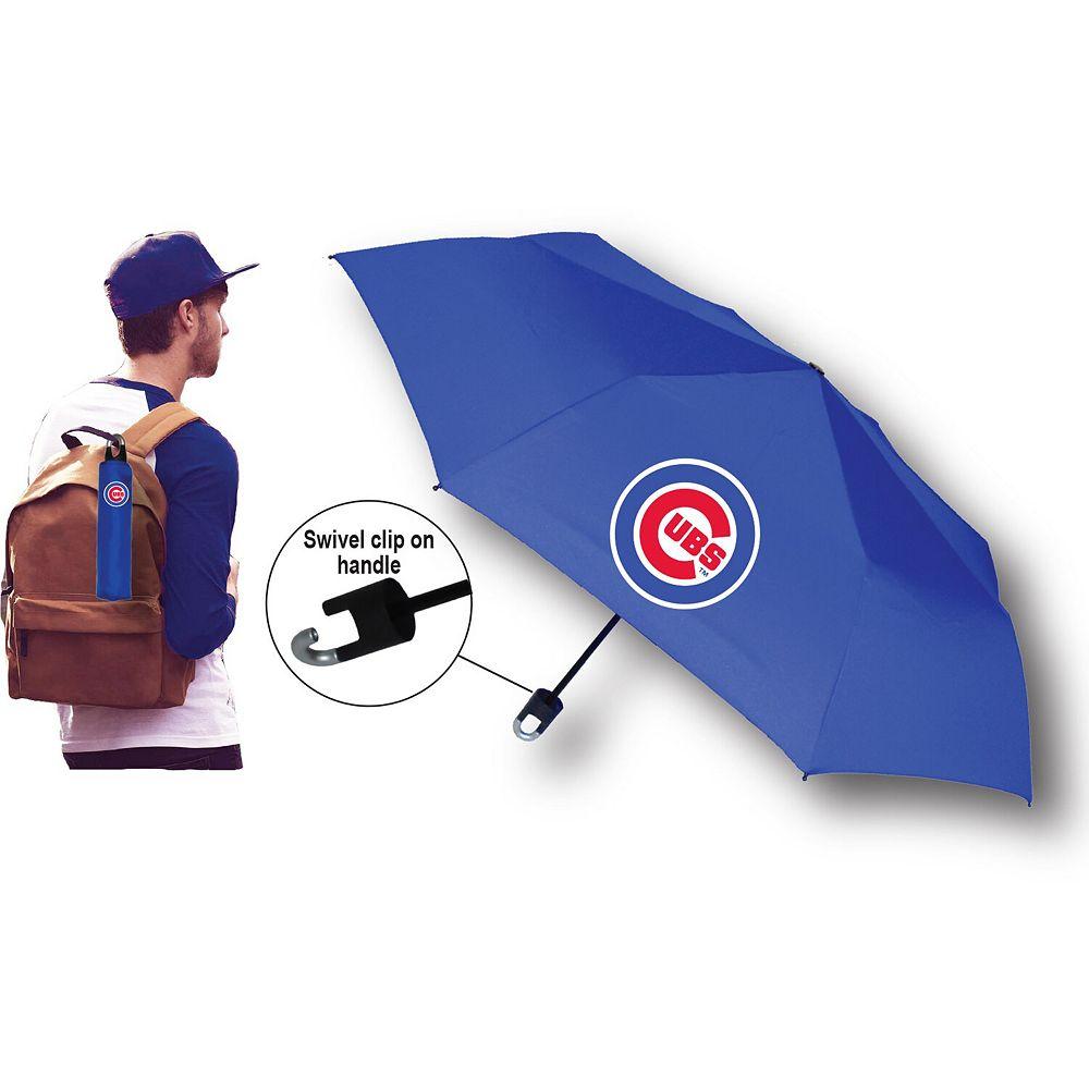 Chicago Cubs Super Mini Umbrella With Storm Clip