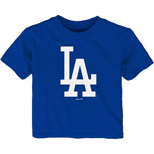 Infant Royal Los Angeles Dodgers Team Primary Logo T-Shirt