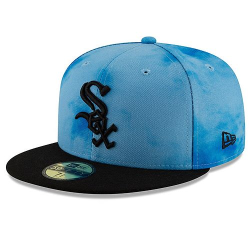 Men's New Era Blue/Black Chicago White Sox 2019 Father's Day On-Field 59FIFTY Fitted Hat