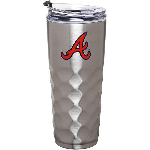 Atlanta Braves 32oz. Stainless Steel Diamond Tumbler