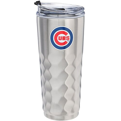 Chicago Cubs 32oz. Stainless Steel Diamond Tumbler