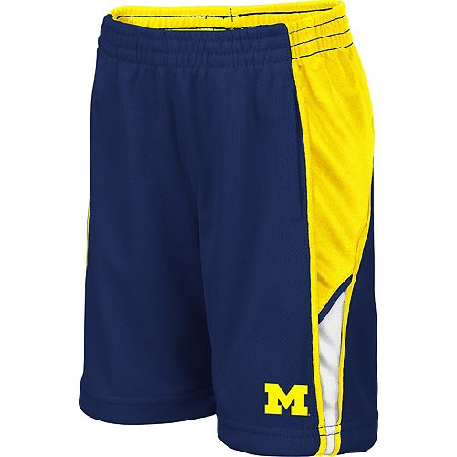 Toddler Colosseum Navy Michigan Wolverines Duncan Shorts