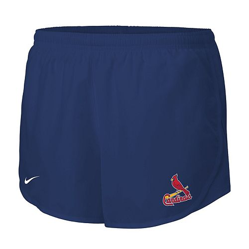 Women's Nike Navy St. Louis Cardinals Mod Tempo Performance Shorts