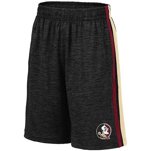 Youth Colosseum Black Florida State Seminoles Mendoza Shorts