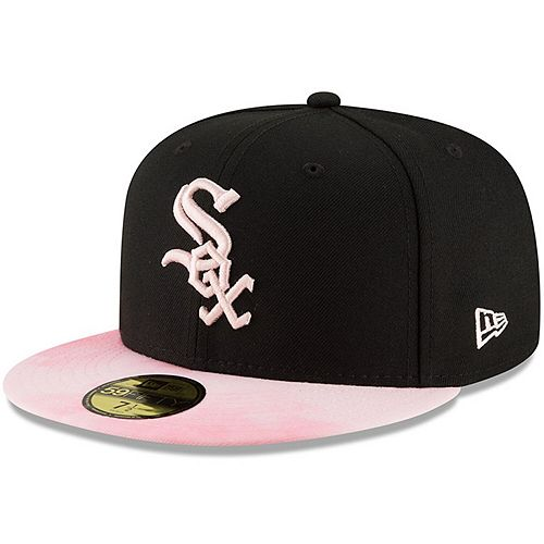 Chicago White Sox New Era 2019 Mother's Day On-Field 59FIFTY Fitted Hat - Black/Pink