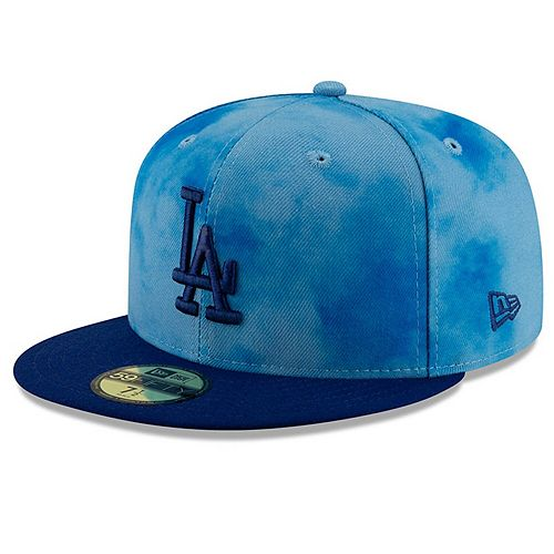 Men's New Era Blue/Royal Los Angeles Dodgers 2019 Father's Day On-Field 59FIFTY Fitted Hat