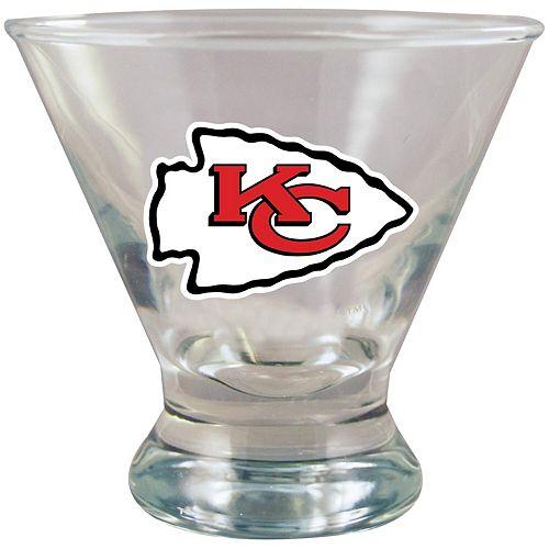 Kansas City Chiefs Martini Glass