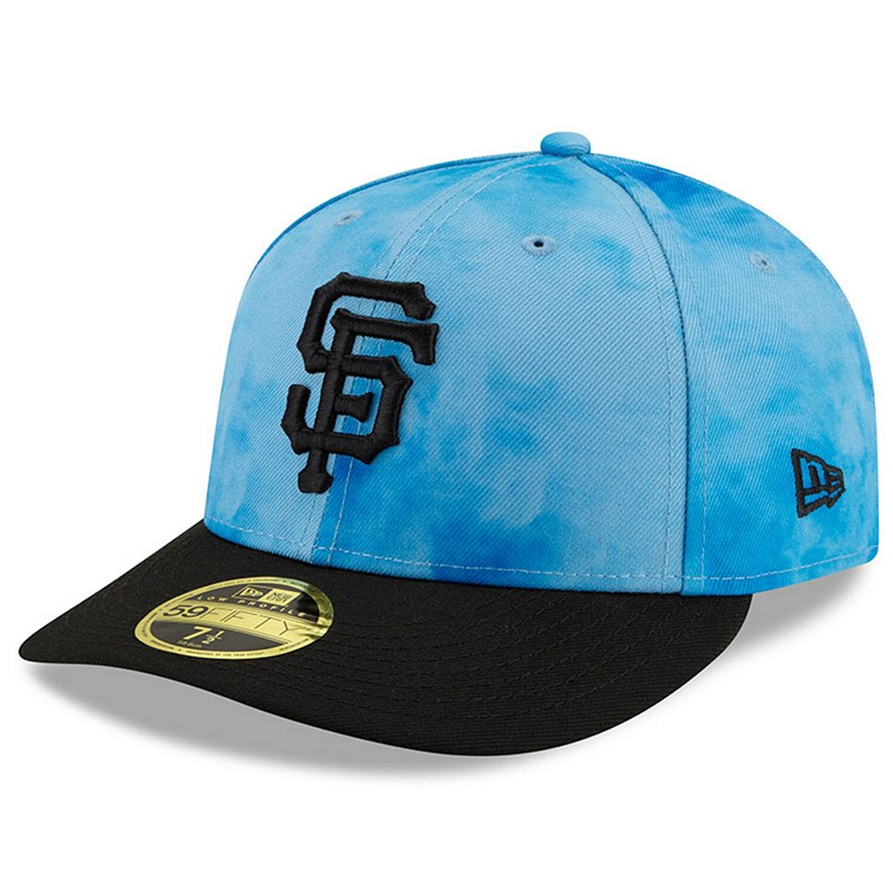 Men's New Era Blue/Black San Francisco Giants 2019 Father's Day On-Field Low Profile 59FIFTY Fitted Hat