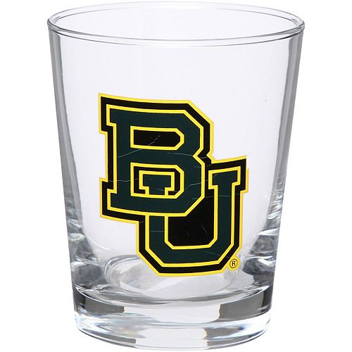 Baylor Bears 15oz. Double Old Fashioned Glass