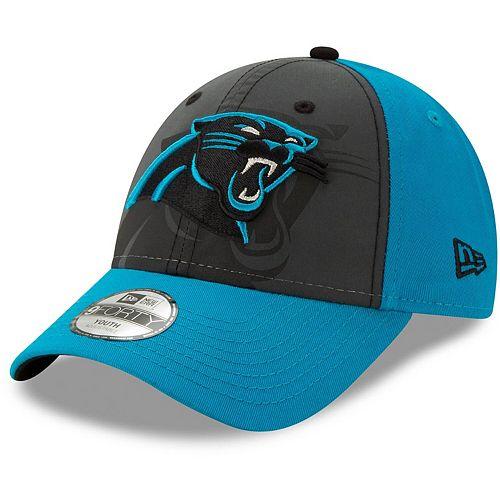 Youth New Era Graphite/Blue Carolina Panthers Reflect 9FORTY Snapback Hat