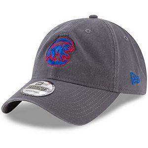 Men's New Era Graphite Chicago Cubs Crawling Bear Logo Core Classic 9TWENTY Adjustable Hat