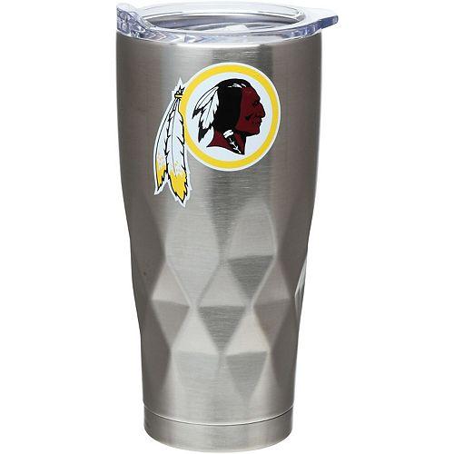 Washington Redskins 22oz. Diamond Bottom Stainless Steel Tumbler