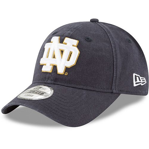 Men's New Era Navy Notre Dame Fighting Irish Core Fit 49FORTY Fitted Hat