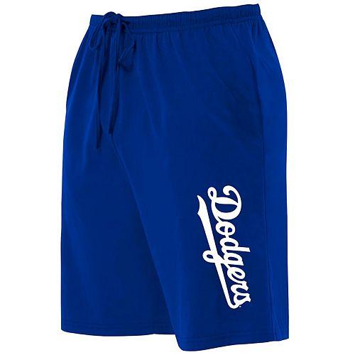 Women's Majestic Royal Los Angeles Dodgers Plus Size Jersey Long Shorts
