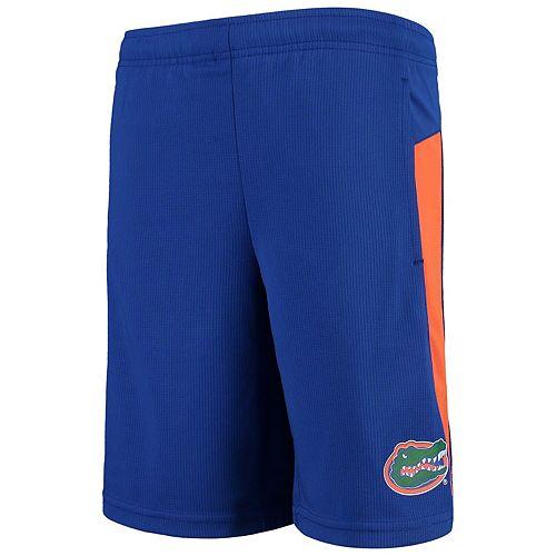 Youth Royal Florida Gators Grand Mesh Shorts