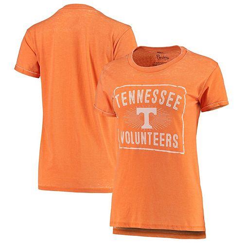 Women's Pressbox Tennessee Orange Tennessee Volunteers Dora Vintage Wash Boyfriend T-Shirt