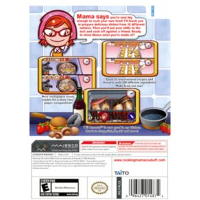 Nintendo Wii Cooking Mama Cook Off