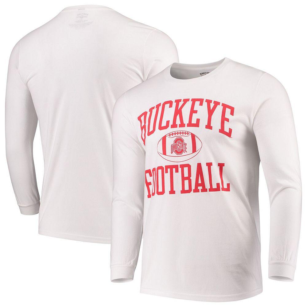 Ohio State Buckeyes Neutral Zone Long Sleeve T-Shirt - White