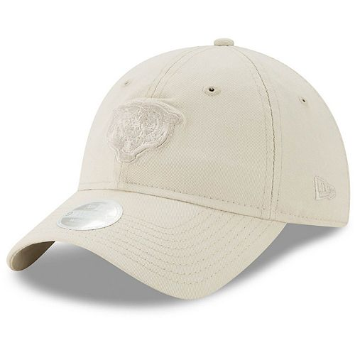 Women's New Era Cream Chicago Bears Core Classic Tonal 9TWENTY Adjustable Hat