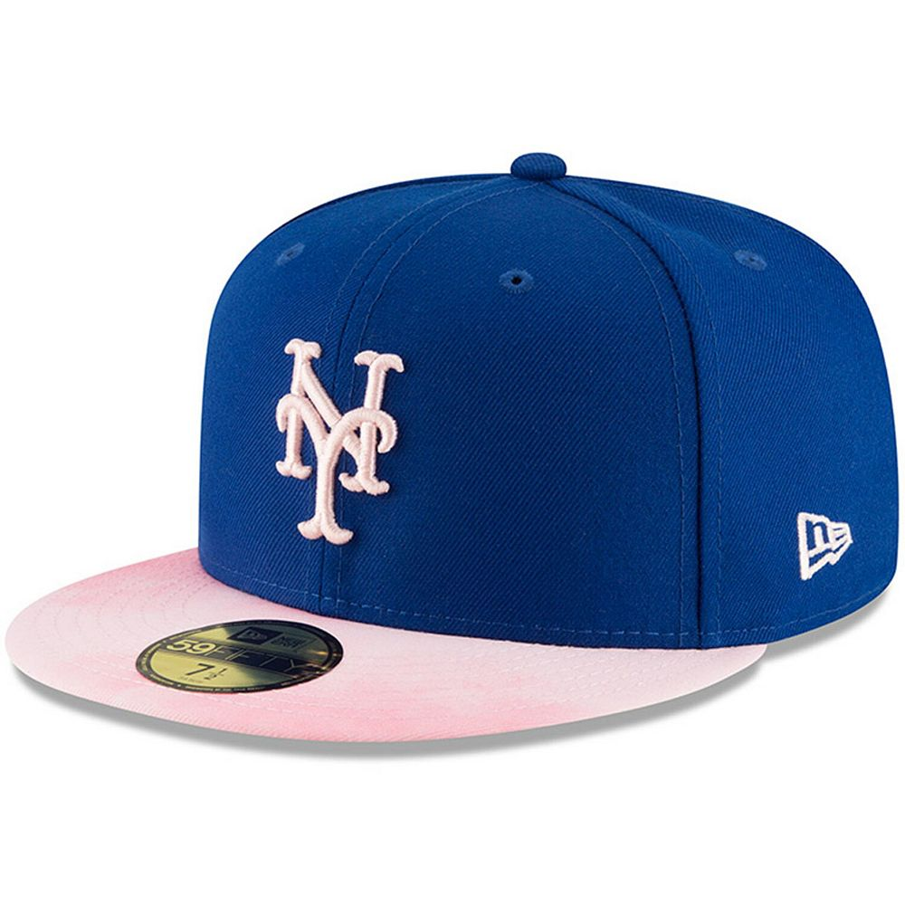 New York Mets New Era 2019 Mother's Day On-Field 59FIFTY Fitted Hat - Royal/Pink