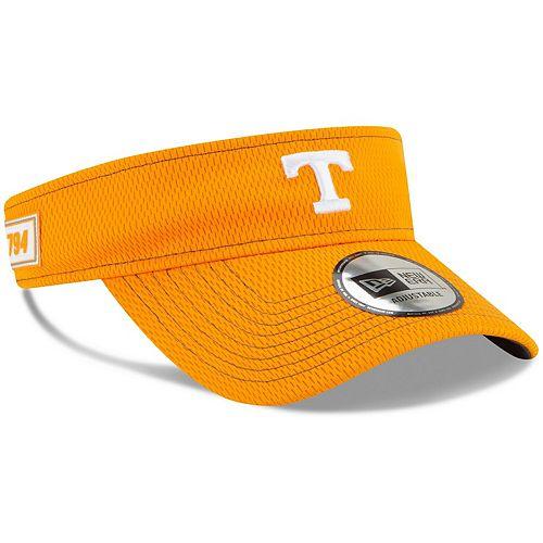 Men's New Era Tennessee Orange Tennessee Volunteers Sideline Visor
