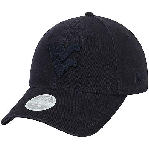 Women's New Era Navy West Virginia Mountaineers Core Classic Tonal 9TWENTY Adjustable Hat