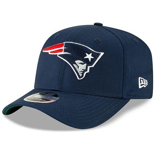 Men's New Era Navy New England Patriots Team 9FIFTY Adjustable Snapback Hat