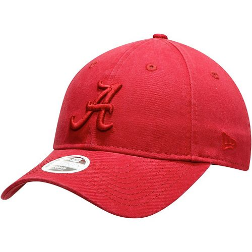 Women's New Era Crimson Alabama Crimson Tide Core Classic Tonal 9TWENTY Adjustable Hat