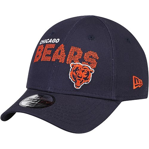Toddler New Era Navy Chicago Bears Scribble 9FORTY Adjustable Hat