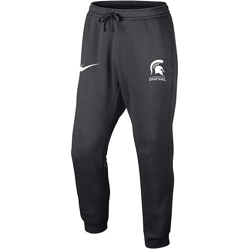Men's Nike Anthracite Michigan State Spartans Club Fleece Joggers