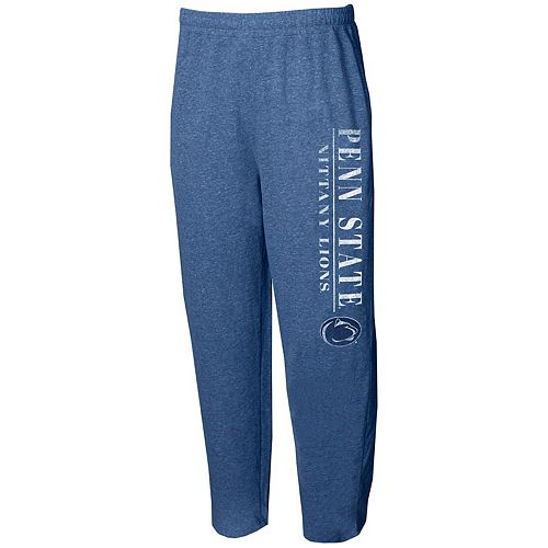Men's Concepts Sport Navy Penn State Nittany Lions Tri-Blend Mainstream Terry Pants
