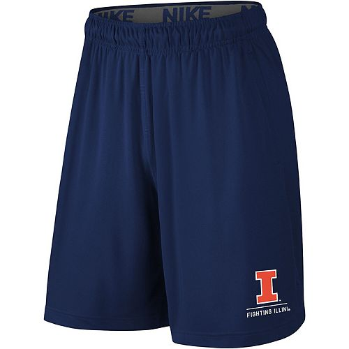 Men's Nike Navy Illinois Fighting Illini Fly 2.0 Shorts