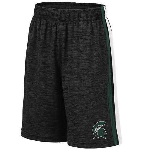 Youth Colosseum Black Michigan State Spartans Mendoza Shorts