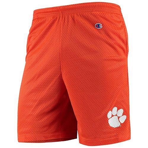 Men's Champion Orange Clemson Tigers College Mesh Shorts