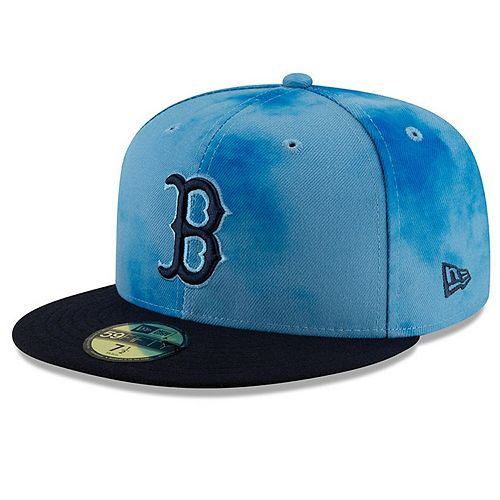 Men's New Era Blue/Navy Boston Red Sox 2019 Father's Day On-Field 59FIFTY Fitted Hat