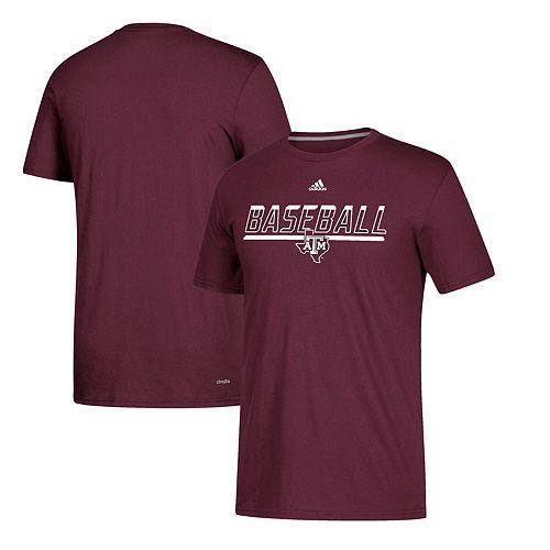 Men's adidas Maroon Texas A&M Aggies Safe at Home climalite T-Shirt