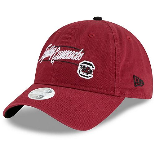 Women's New Era Garnet South Carolina Gamecocks Slogan 9TWENTY Adjustable Hat