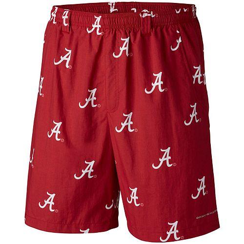 Men's Columbia Crimson Alabama Crimson Tide Big & Tall Backcast Shorts